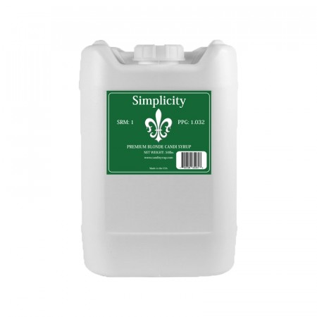 Simplicity Candi Syrup 22,7 kg