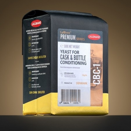 CBC-1 Cask & Bottle Conditioning Yeast 500g