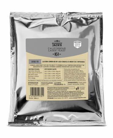 Californian Lager Yeast M54 - 250g